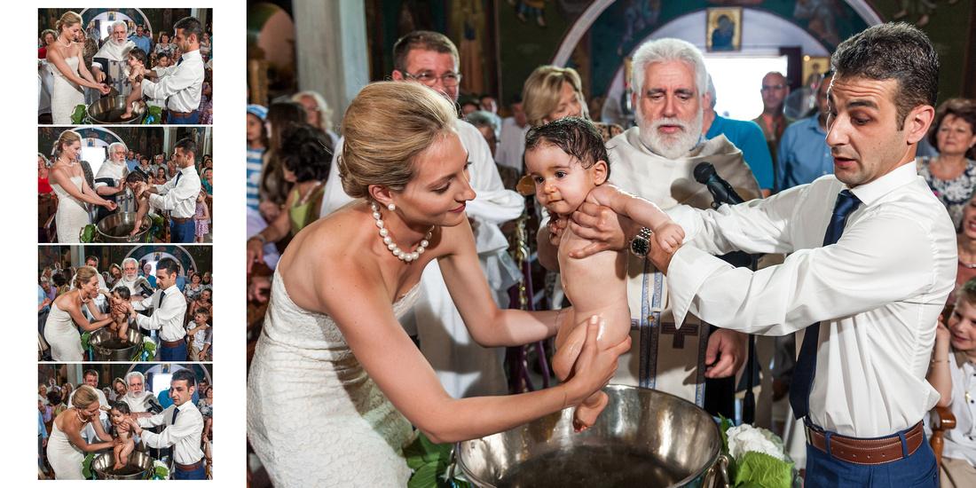 Φωτογράφηση Βάπτισης στην Ελευθερώτρια στην Πολιτεία.