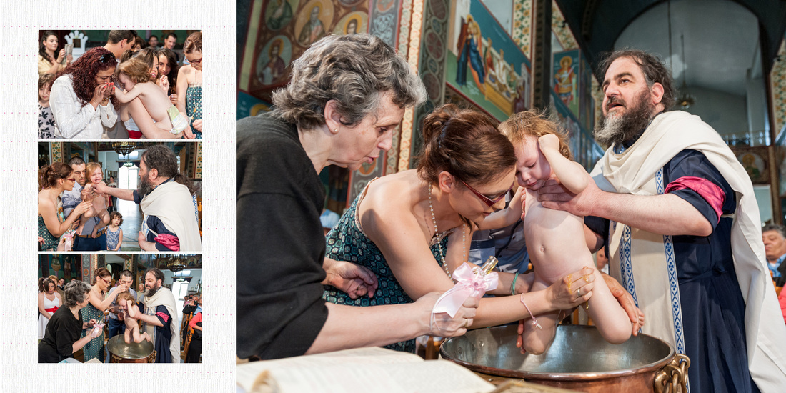 Φωτογράφηση Βάπτισης στη Μεταμόρφωση Σωτήρος Βύρωνα