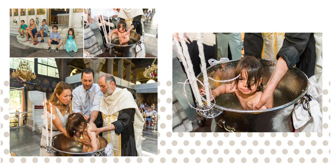 Φωτογράφηση Βάπτισης στον Άγιο Χαράλαμπο στα Ιλίσια.